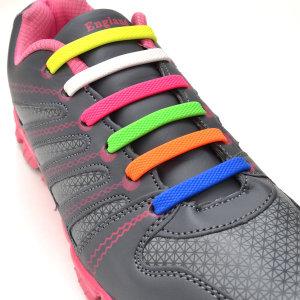 매듭없는 신발끈 실리콘운동화끈 앙카16P 20P로 출고