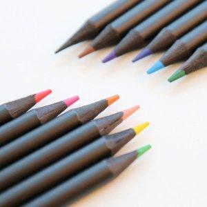 유아 색연필 12색 / 컬러링 그림그리기 크레파스 연필