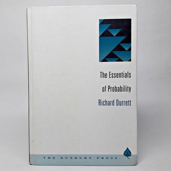 영문the essentials of probability richard durrett