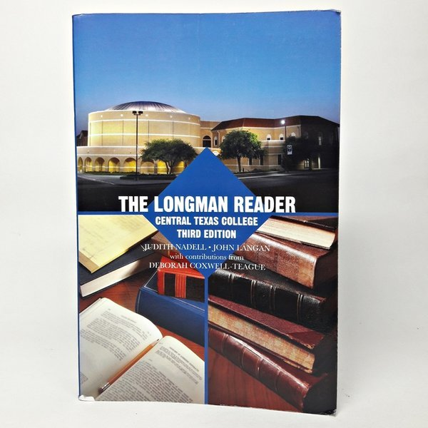 영문서적the longman reader central texas college