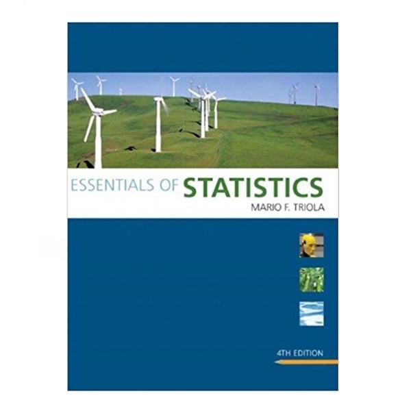 영문서적 Essentials of Statistics Mario F Triola