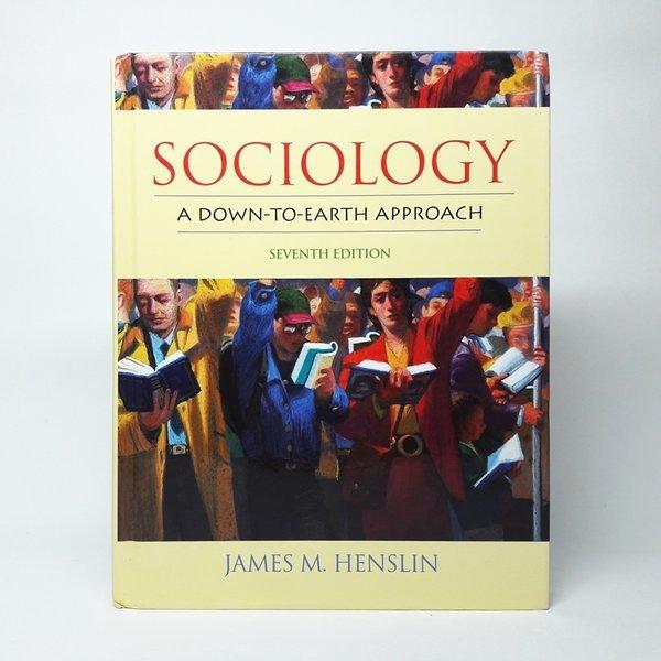 영문Sociology A Down To Earth Approach(Hardcover)