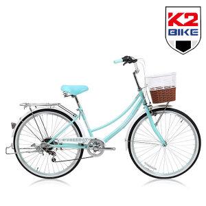 K2BIKE 클래식 여성용자전거 프리데이 24/26인치 7단