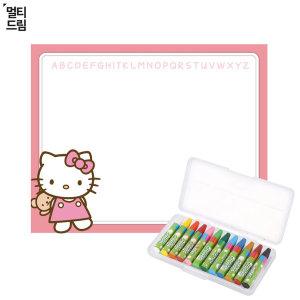 특가판매 키티 매직 워터스케치북 세트 워터크레용