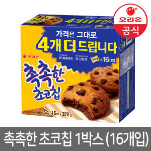 촉촉한 초코칩 16개입 (1박스) 320g