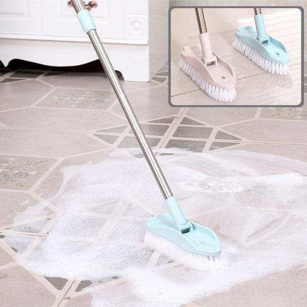 길이조절 욕실 밀대 청소솔 1+1행사 다용도  롱브러쉬