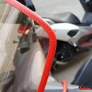 키젠 오토바이 윈드스크린 몰딩 10cm단위 레드