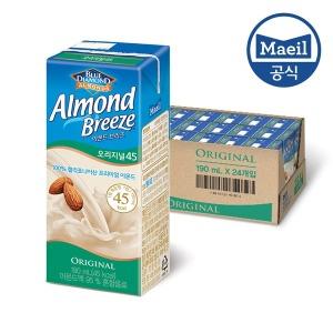 아몬드브리즈 오리지널 190ML 24팩/아몬드두유/음료
