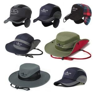 사파리 선캡 캠핑 마라톤  겨울 등산 모자  방한모자