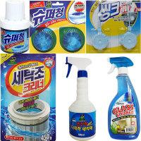 산도깨비 세탁조크리너 변기세정제 유리세정제 세척제