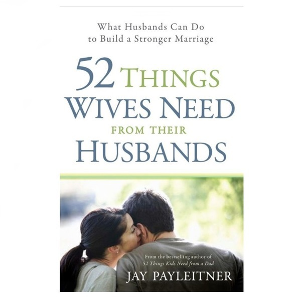 영문서적52things wives need from their husbands