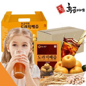 배즙 생강 은행 꿀 도라지배즙 120포 벌크특가 1box