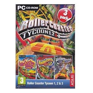 PC 롤러코스터 타이쿤 1+2+3 스팀 코드
