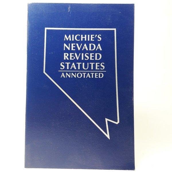 영문서적Michies Nevada Revised Statutes annotated