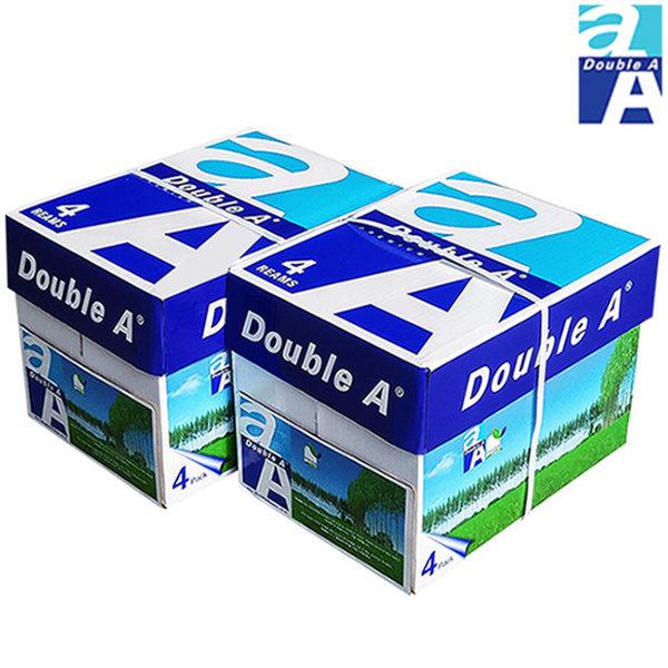 더블에이 A4 복사용지(A4용지) 80g 4000매(2BOX)