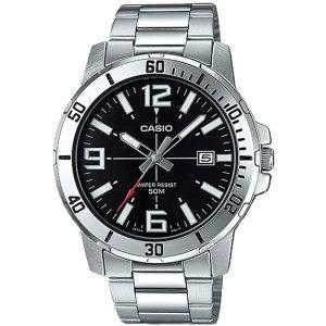 카시오정품 MTP-VD01D-1B 전자손목시계 남성메탈 패션