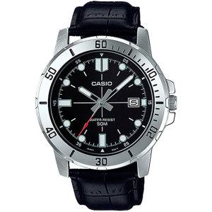 카시오정품 MTP-VD01L-1E 전자손목시계 남성가죽 패션