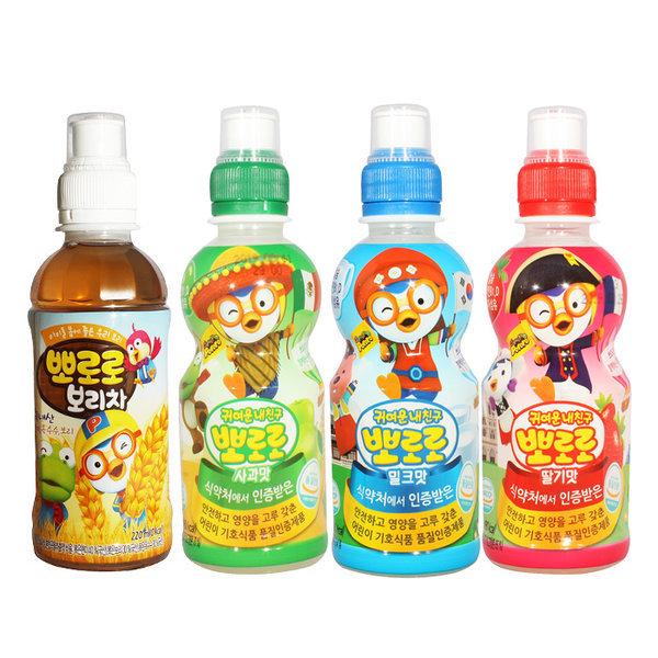 뽀로로음료수(4종) 235mlx 24펫 /어린이음료/음료수
