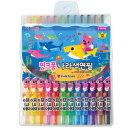 핑크퐁 나라색연필 12색