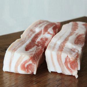 듀록 흑돼지 수육용 오겹살 1kg (스페인산)