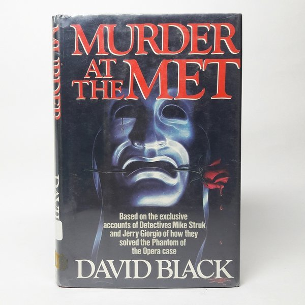 영문소설Murder at the Met / David Black