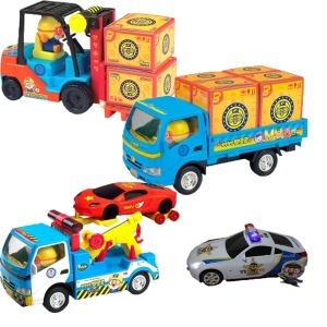 뽀로로 자동차/트럭/지게차/견인차/사은품