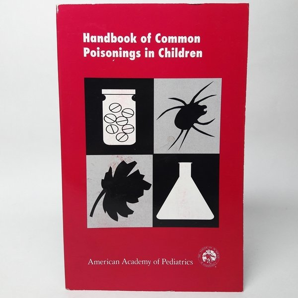 의학서적handbook of common poisonings in children