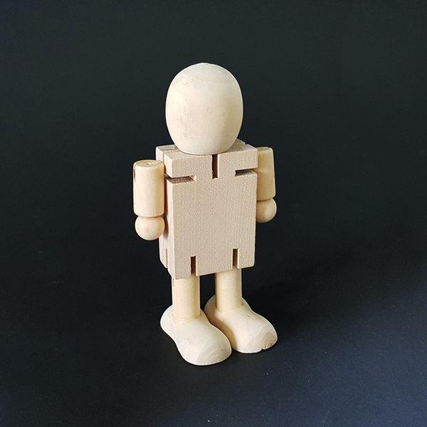 무브 원목인형/관절 나무인형 우드 만들기