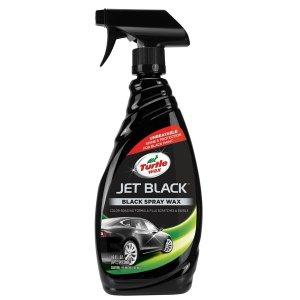 터틀왁스 젯블랙 검은차 스프레이 물왁스 광택제