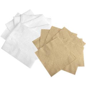 화이트 칵테일냅킨 백색무지 4000매 (명성18)