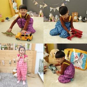 방수 놀이복/유아/어린이/미술가운/모래놀이옷/앞치마