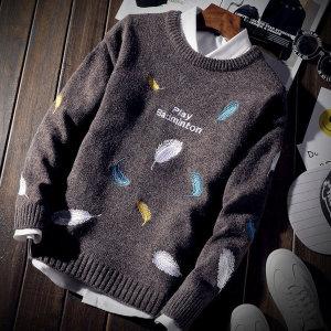빅사이즈 남성 니트티 스웨터 티셔츠 맨투맨 패턴my23