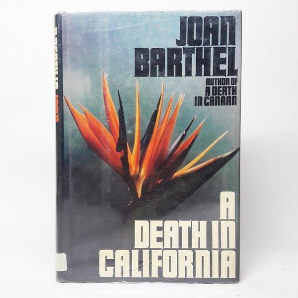 영문서적A Death in California/ joan barthel