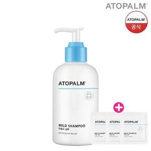 아토팜 마일드 샴푸 300ml (샘플파우치 3개)