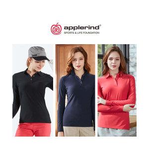 애플라인드 여성 트리코트 허그셔츠 3종
