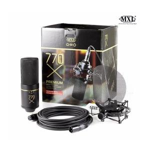 MXL 770x 멀티패턴 콘덴서 마이크 보컬패키지