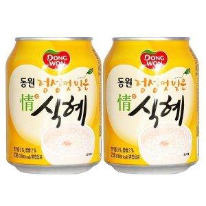 동원  정식혜 238ml x 72캔 식혜캔 음료캔