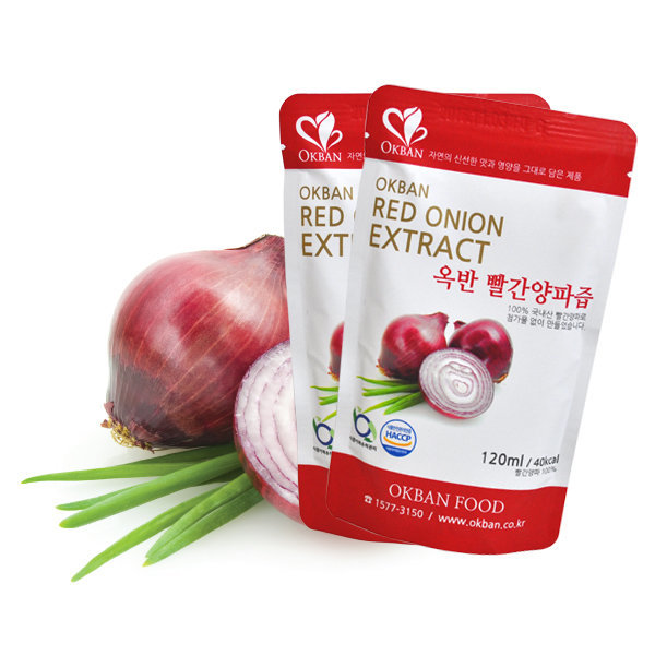 옥반식품 빨간양파즙 100팩 FDA등록미국수출 구매후기