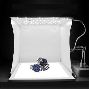 미니스튜디오 포토박스 LED 2줄