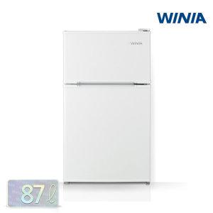 전국무료배송설치  위니아 소형냉장고 RT087AW  WRT087BW (화이트) 1등급 / 87리터 / 2룸