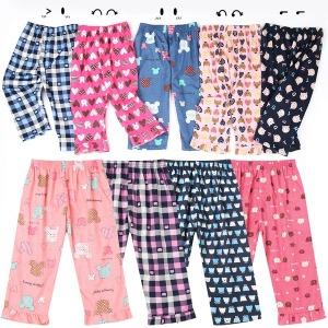 2개 무료배송  아동잠옷 9부바지/아동파자마/잠옷