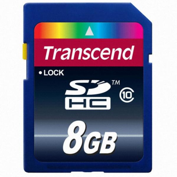 (GC) 트랜센드 SDHC CLASS10 (정품  8GB)