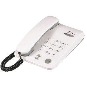 LG 유선전화기(GS-460/화이트) 유선전화기