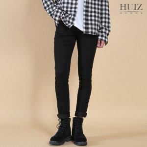 HI 블랙 스판 면팬츠 HUIZ_SL657