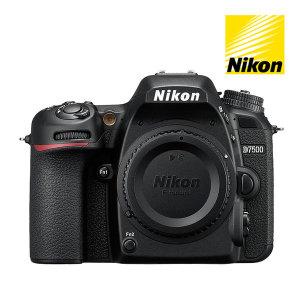 정품  D7500  BODY  DSLR 카메라 10만원 캐시백 증정
