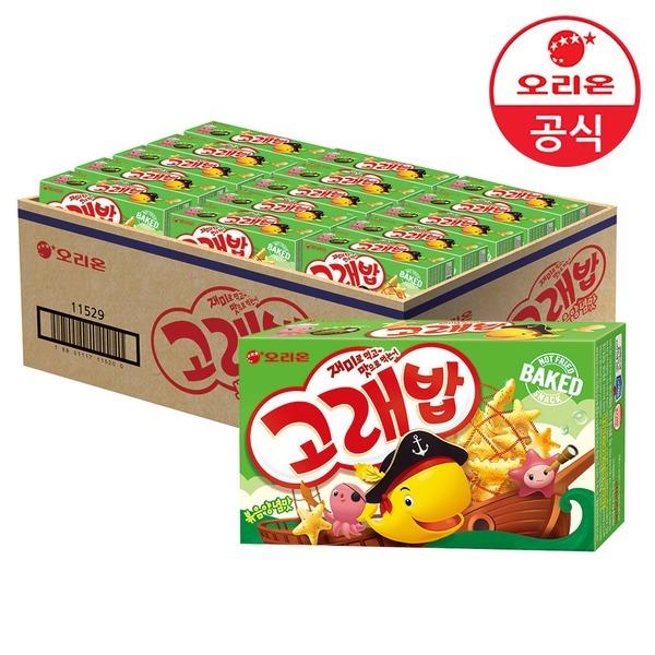 고래밥 볶음양념맛 40g 30개