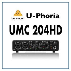 베링거 U-PHORIA UMC204HD Behringer