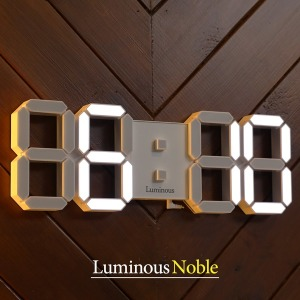 2019년 신제품 / 루미너스 노블 3D LED 벽시계 버젼2