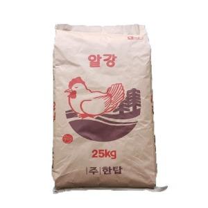 25kg 알강 닭사료/닭모이/닭먹이/백봉/오골계