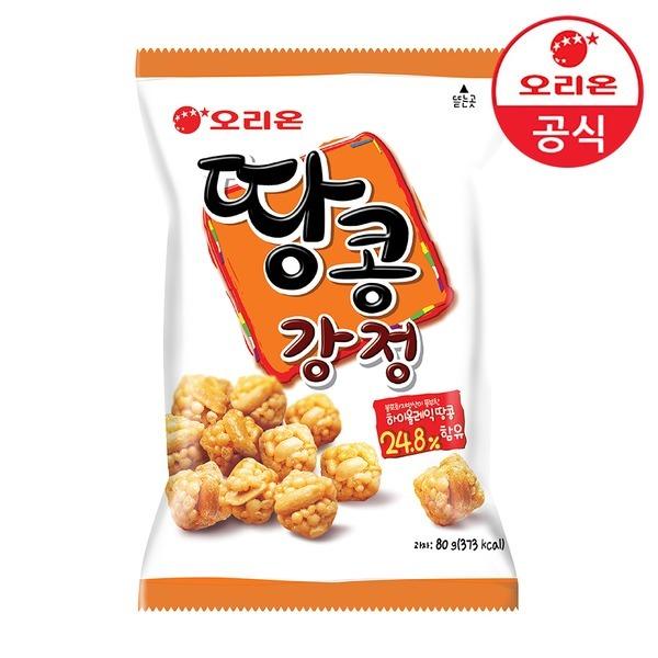 [오리온] 땅콩강정 80g